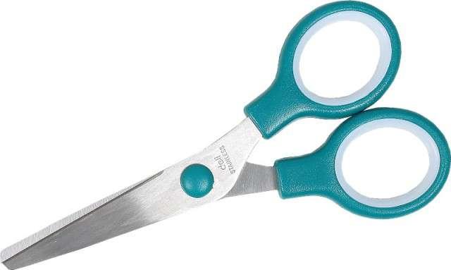 """Nożyczki """"Classic"""", mix kolorów, DELI, 13 cm"""