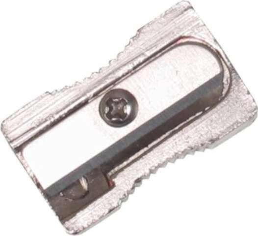 Temperówka Metalic - pojedyńcza aluminium D.RECT