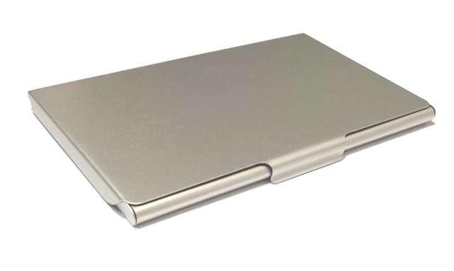 Wizytownik Aluminiowy - Slim KEJEA 95 x 60 mm