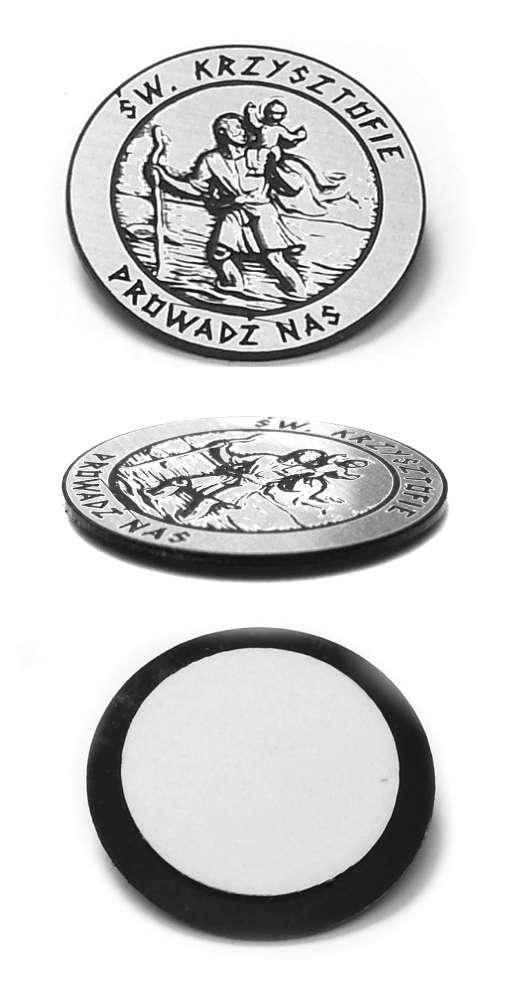 Emblemat Św. Krzysztof 30x30