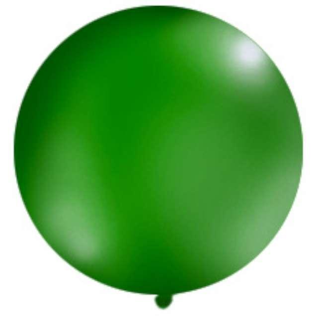 Balon 1 metr pastel meks okrągły c.zielony1szt