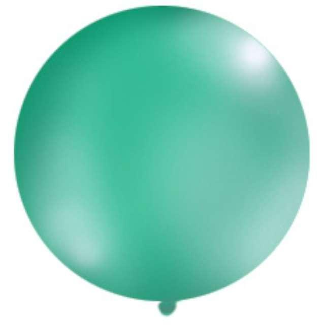 Balon 1 metr pastel meks okrągły l.zieleń 1szt