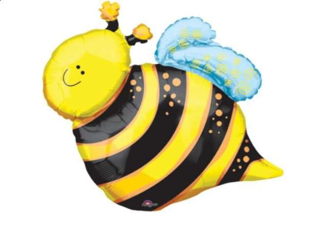 "Balon foliowy ""Pszczółka Wesoła"", AMSCAN, 14"" SHP"