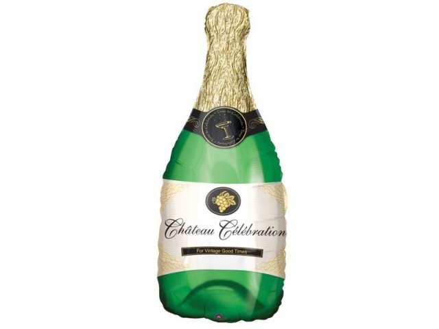 "Balon foliowy 36"" Butelka szampana"