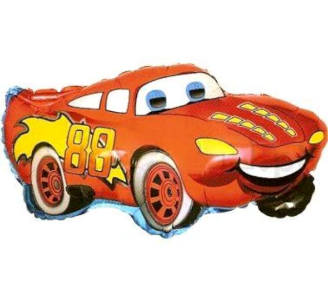 """Balon foliowy """"Samochód czerwony"""", FLEXMETAL, 32"""" SHP"""