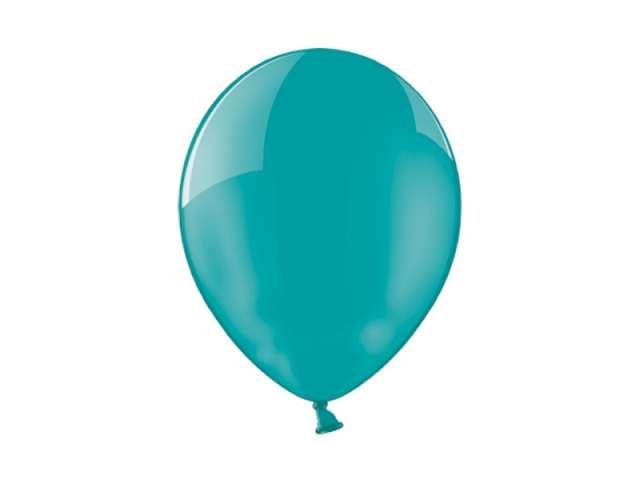 """Balony 10"""" Crystal BELBAL Teal 100 szt"""
