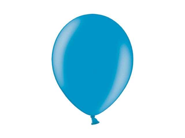 "Balony 10"" Metalik BELBAL Cyan 100 szt"