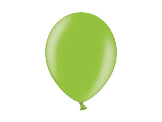 "Balony 10"" Metalik BELBAL Lime Green 100 szt"