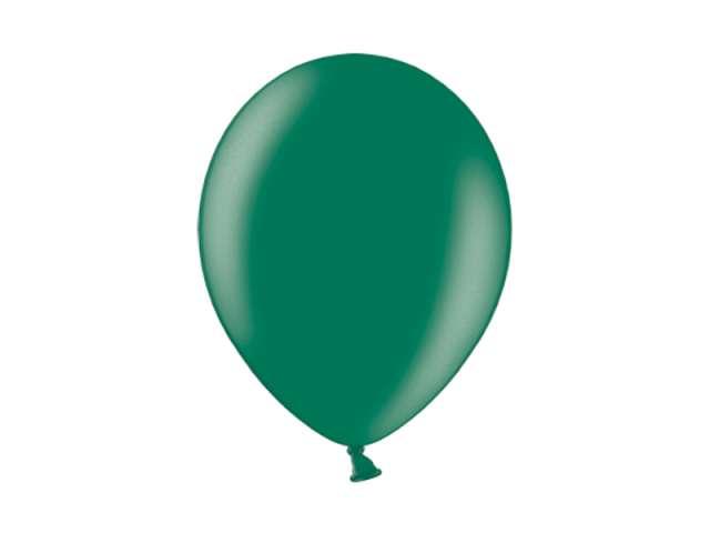 """Balony 10"""" Metalik BELBAL Oxford Green 100 szt"""