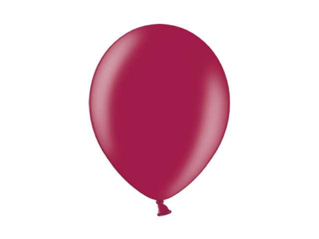 """Balony 10"""" Metalik BELBAL Plum 100 szt"""
