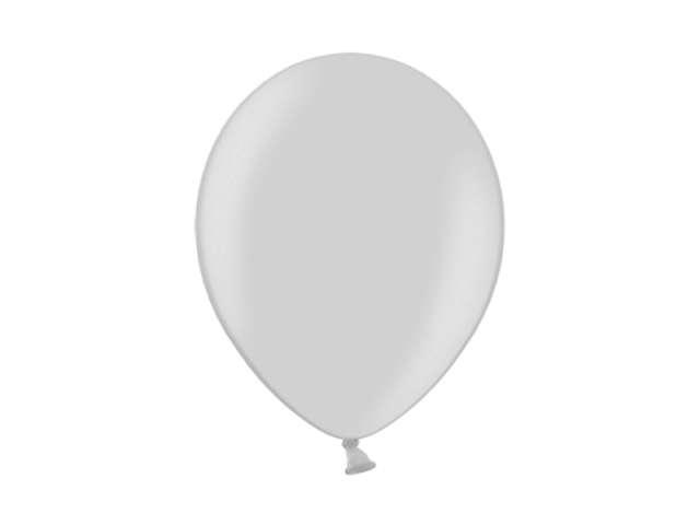 """Balony 10"""" Metalik BELBAL Silver 100 szt"""