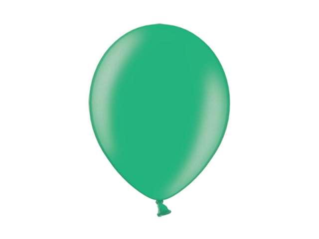 "Balony 10"" Metalik BELBAL Turquoise 100 szt"