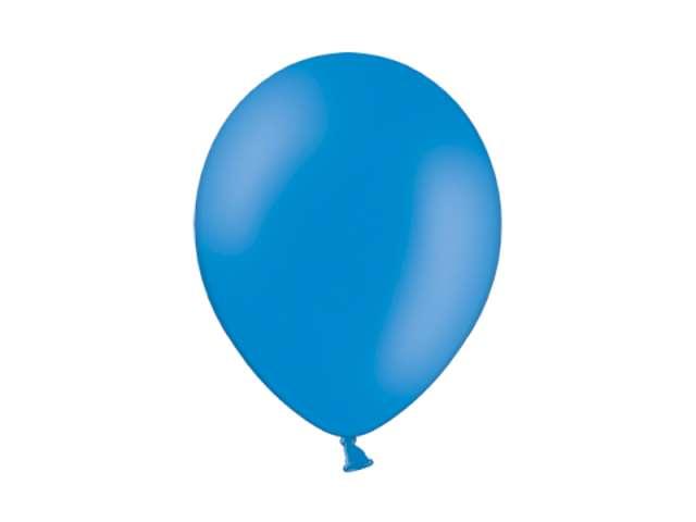 """Balony 10"""" Pastel BELBAL Mid Blue 100 szt"""