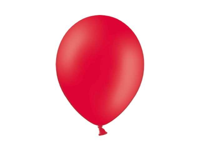 "Balony 10"" Pastel BELBAL Red 100 szt"