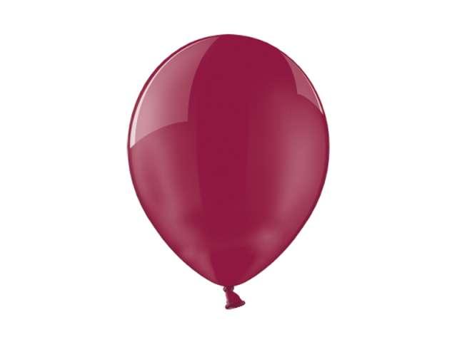 "Balony 12"" Crystal BELBAL Burgundy 100 szt"