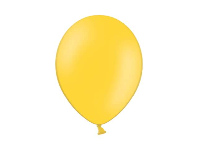 """Balony 12"""" Pastel BELBAL Bright Yellow 100 szt"""
