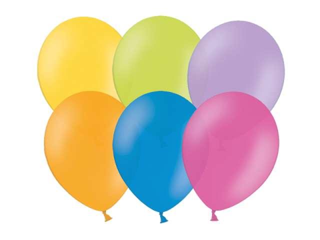 """Balony 12"""" Pastel BELBAL mix 100 szt"""