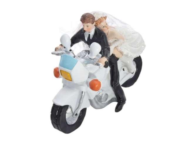 "Figurka ""Para Młoda na motorze"""