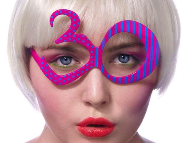 """Okulary party """"Urodziny 30"""""""