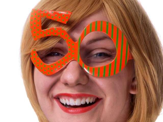 """Okulary party """"Urodziny 50"""""""