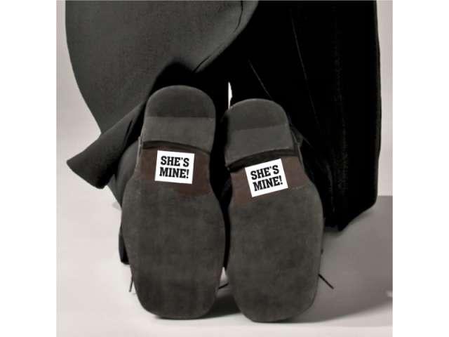 Naklejki na buty SHES MINE! 2 szt