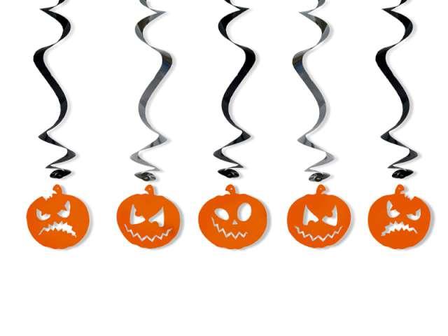 Świderki halloween, długość 60 cm. 1 op.