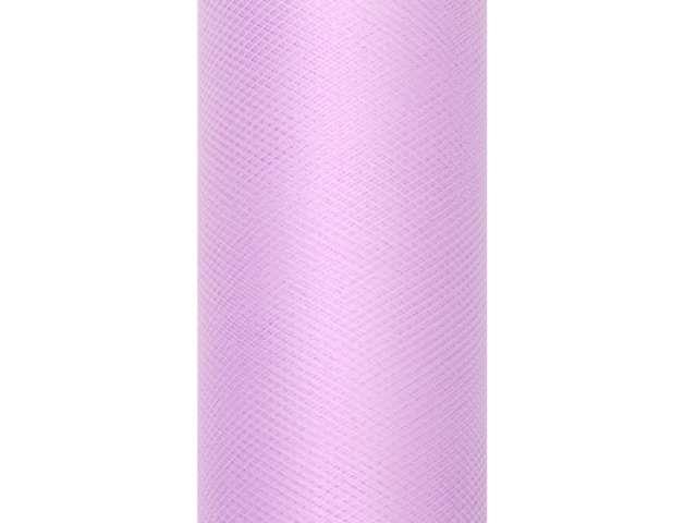 Tiul gładki, lawendowy, 0,15 x 9 m