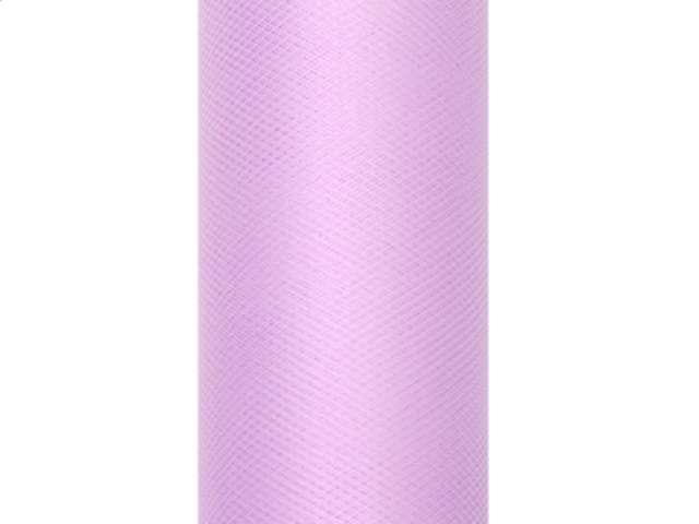 Tiul gładki, lawendowy, 0,30 x 9 m