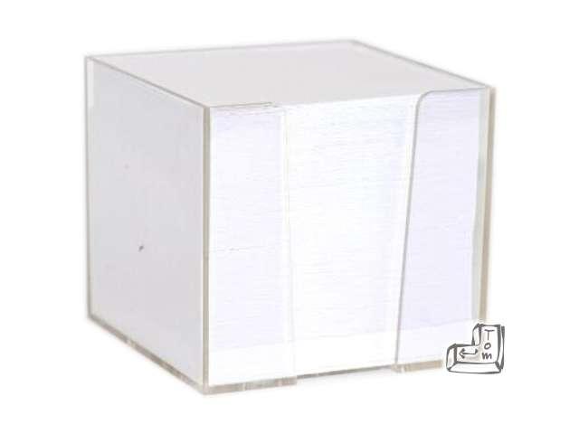 Notes Kostka nieklejona biała 85x85 D.RECT 800 szt