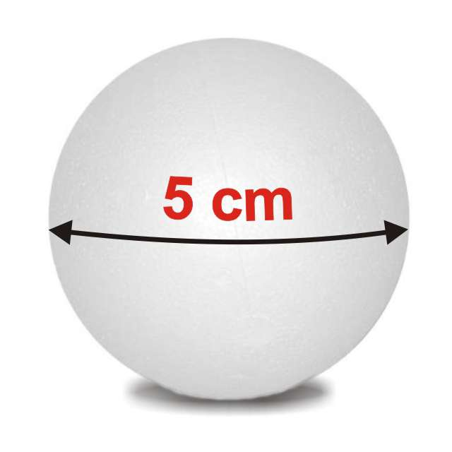 "Styropian ""Kula  50 mm (m)"", UNISAN, 10 szt"