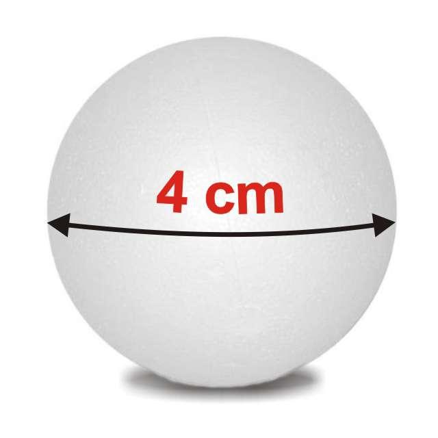 "Styropian ""Kula  40 mm (m)"", UNISAN, 10 szt"