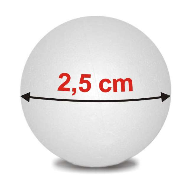 "Styropian ""Kula  25 mm (m)"", UNISAN, 10 szt"