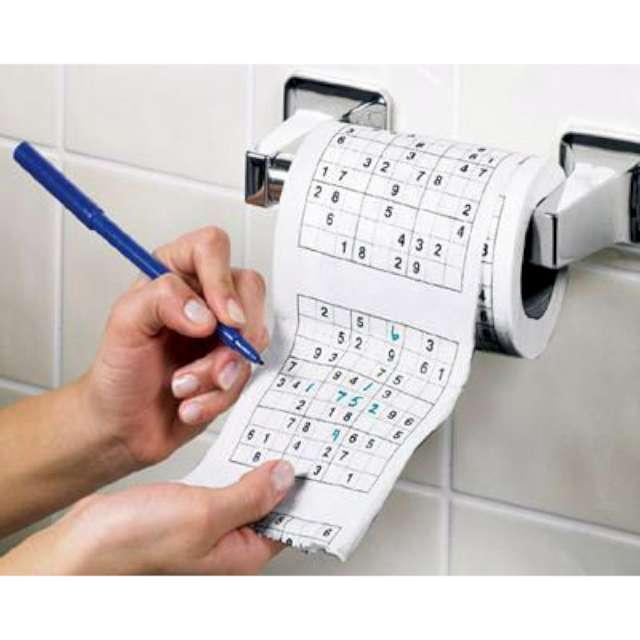 """Papier toaletowy """"Sudoku XL"""""""