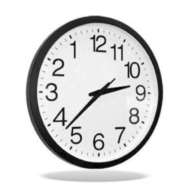 Zegar wsteczny cofający czas