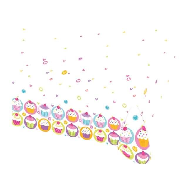 "Obrus foliowy ""Cupcake"", 120 x 180 cm"