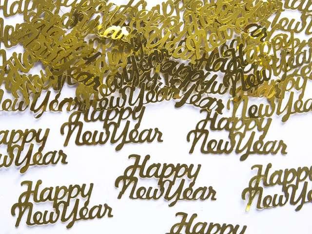 """Konfetti """"Happy New Year"""", 4 x 2 cm, 3 g."""