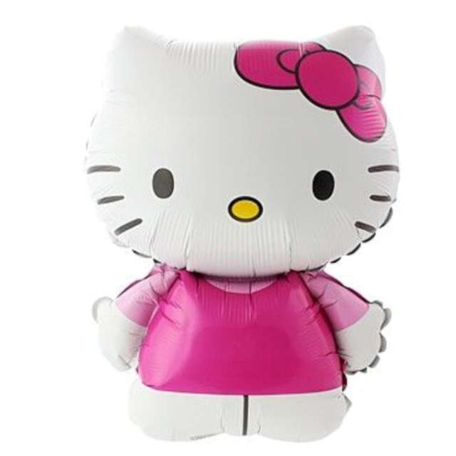 "Balon foliowy ""Hello Kitty"", FLEXMETAL, 24"" SHP"