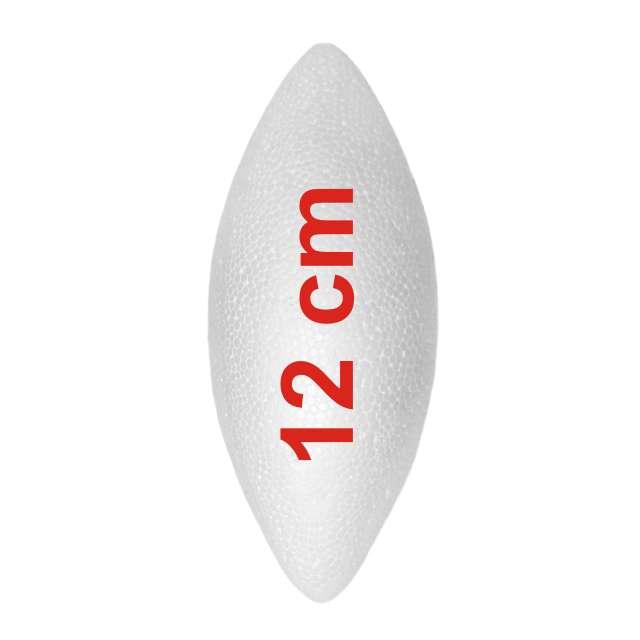 Styropian szyszka gładka 120 mm