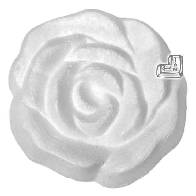 """Styropian """"Róża 70 mm (t)"""", UNISAN, 5 szt"""