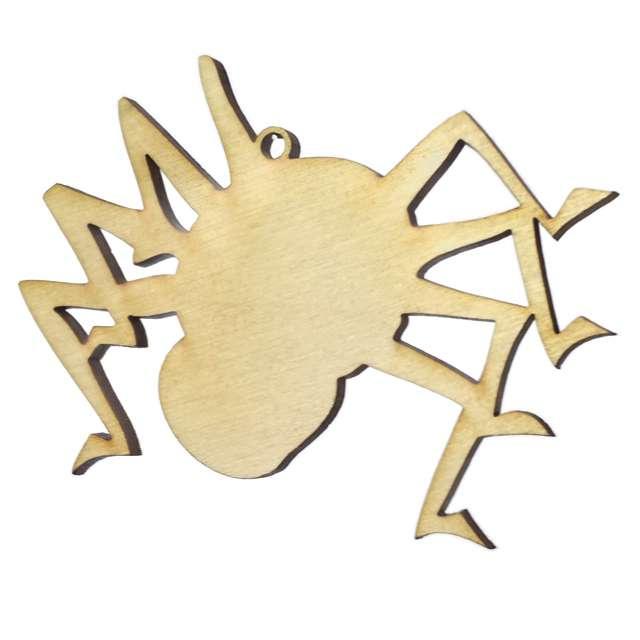 """Zawieszka drewniana """"Pająk"""", 73 x 78 mm, 10 szt"""