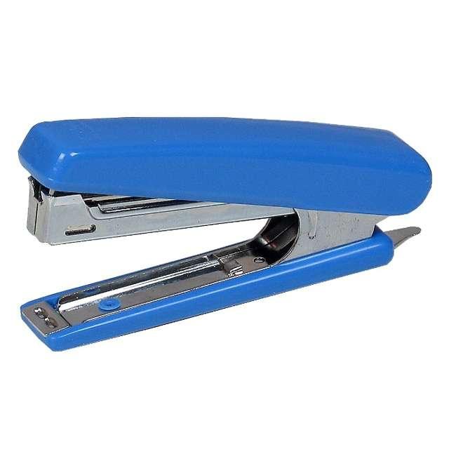 """Zszywacz biurowy """"Classic Mini Plus"""", niebieski, DELI No 0221"""
