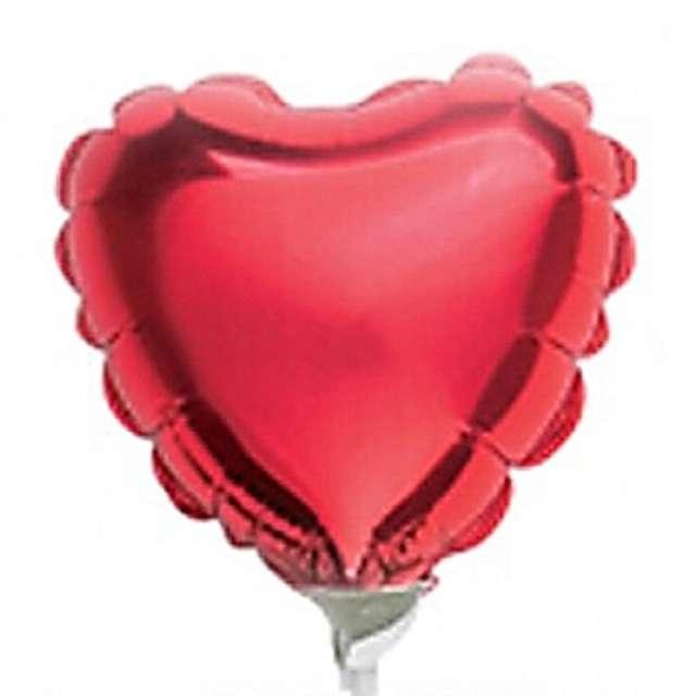 """Balon foliowy 4"""" serce czerwone"""