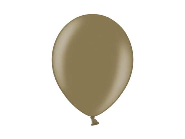 """Balony 10"""" Metalik BELBAL Almond 100 szt"""