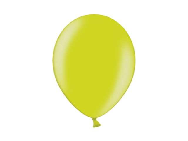 """Balony 10"""" Metalik BELBAL Apple Green 100 szt"""
