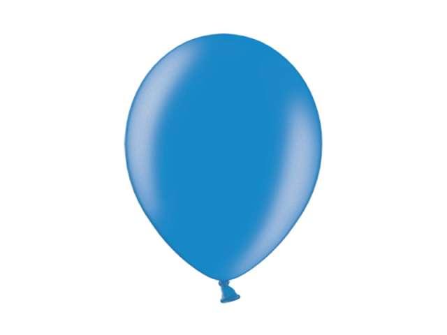 """Balony 10"""" Metalik BELBAL Blue 100 szt"""