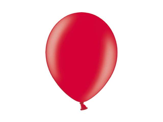 "Balony 10"" Metalik BELBAL Cherry Red 100 szt"