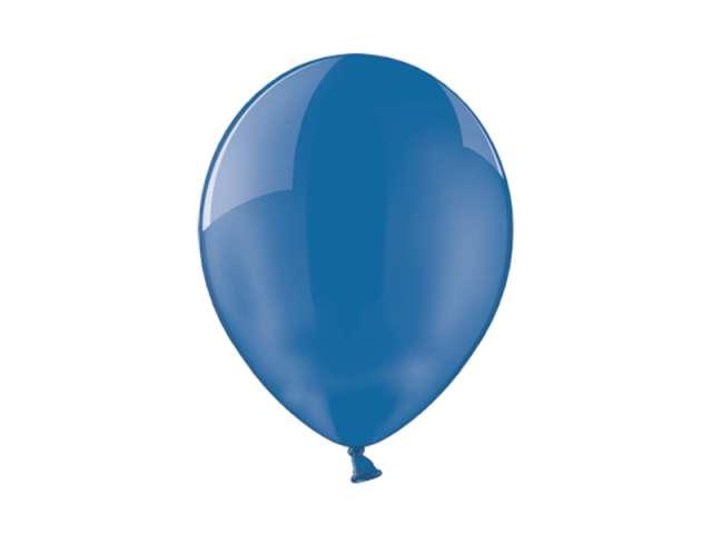"""Balony 10"""" Crystal BELBAL Blue 100 szt"""