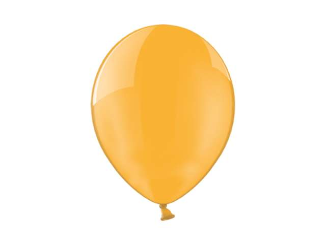"Balony 10"" Crystal BELBAL Orange 100 szt"