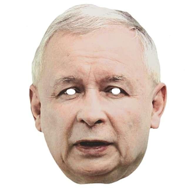 """Maska """"Jarosław Kaczyński"""", papierowa"""