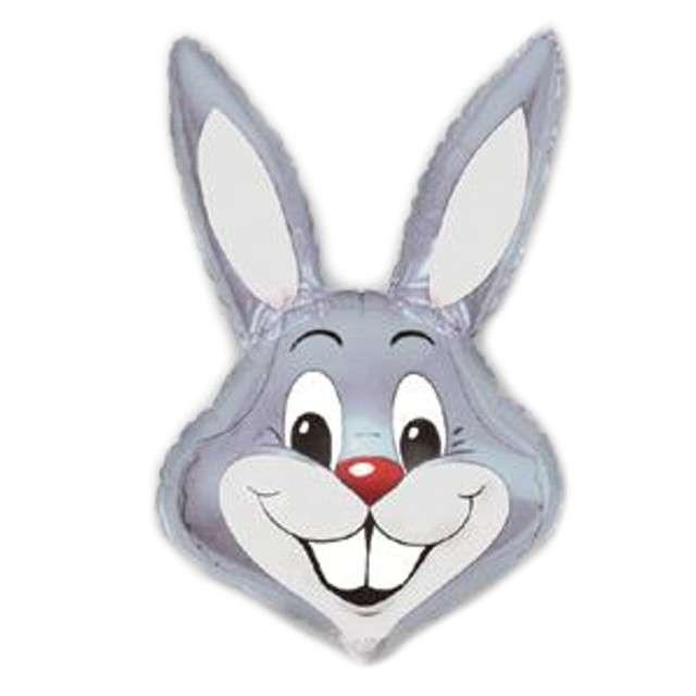 """Balon foliowy 14"""" Rabbit - Królik szary"""